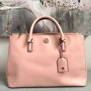 Authentic Tory Burch Bag - Robinson Satchel